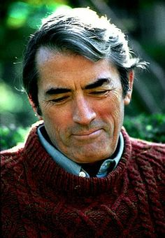 Gregory Peck  (That's just a great expression captured here...)