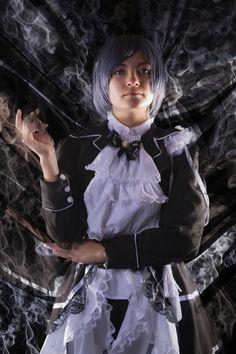 Ciel Phantomhive anime cosplay