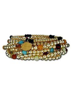 I love Jennifer Miller jewelry.  Especially her bracelets. www.jewelsbyjen.com