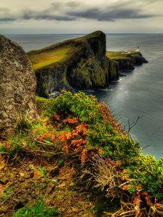 pagewoman:  Neist PointIsle of SkyeInner HebridesScotland. by...