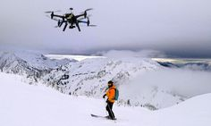 Forget the holiday snaps, get a DRONE video: US Ski resorts set to offer 'drone zone' to capture every move (and crash!) | Cape Productions is expected to charge between $100 and $200 for a photo shoot that includes three runs. [The Future of Drones: http://futuristicnews.com/tag/drone/]