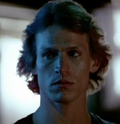 """When we get there, you stick close by, okay?"" Michael Beck as Swan from the best movie EVER, The Warriors <3"