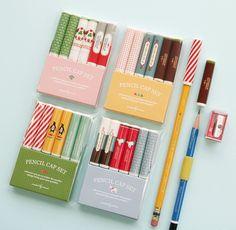 Pencil Cap Set