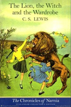 The Lion, the Witch and the Wardrobe full-color paperback edition, illustrated by Pauline Baynes