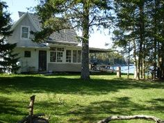 Islesboro Island Cottage Rental: Maine Island Beachfront Cottage-great Views-pebbly/sandy Beach-island Charm   HomeAway