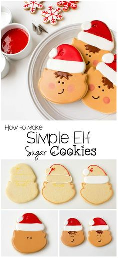 How to Make Simple Elf Cookies | The Bearfoot Baker
