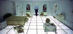 2001 Space Odyssey-- I had dreams about this room since I was a kid, before I saw the movie.