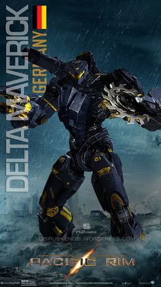 Custom Jaeger Request Delta Maverick by rs2studios on DeviantArt