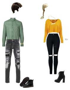 """"""" bffs"""" by athenalacelle on Polyvore featuring Boohoo, Warner Bros., Cerruti 1881 and Philipp Plein"""