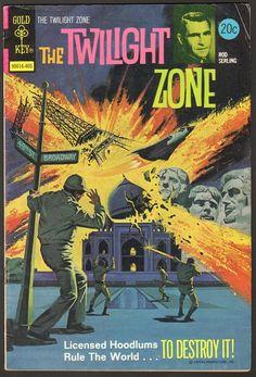 The Twilight Zone Comic #56  Publisher: Gold Key Comics  Date: May 1974