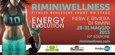 Parte domani la 10ª edizione di #riminiwellness; 4 giorni di tante novità. #fieradelfitness #training #fitness