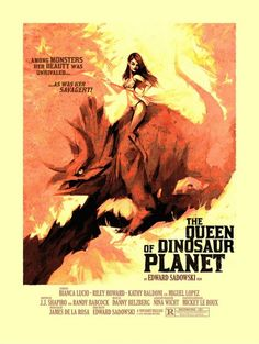 The Queen of Dinosaur Planet movie poster
