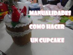 MANUALIDADES FACILES - Como Hacer Cupcakes - http://cryptblizz.com/como-se-hace/manualidades-faciles-como-hacer-cupcakes/