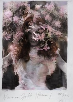 london based polish artist and photographer who makes use of hand-developing and hand-colouring techniques in the darkroom. Floral Bodies, Miss Moss, Pre Raphaelite, Colouring Techniques, Color Photography, Fashion Photography, Double Exposure, Hand Coloring, Creative Inspiration