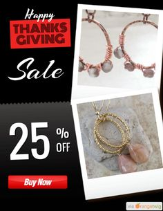 25% OFF on select products. Hurry, sale ending soon! Check out our discounted products now: https://orangetwig.com/shops/AAAkB9K/campaigns/AABq5Pw?cb=2015011&sn=CeliaElizabethJewels&ch=pin&crid=AABq5Pq