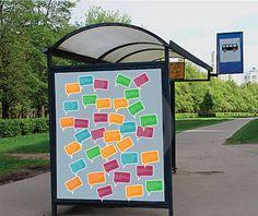 Eksempel på hvordan dialogen kan bredes ud og inspirere i det offentlige rum.