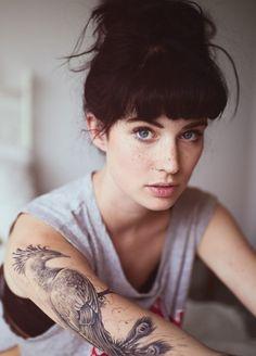 tatuagem pavão