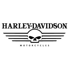 Harley Davidson motorcycle logo stencil in 2 overlays. Description from pinterest.com. I searched for this on bing.com/images