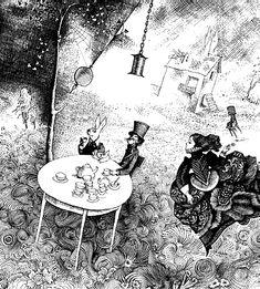 Gennadiy Kalinovskiy. Russia - Alice's tea party