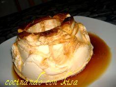Cocinando con Kisa: Flan de Queso y Limon (fussioncook)