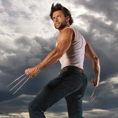 Wolverine -- played by Hugh Jackman in the 'X-Men' movies