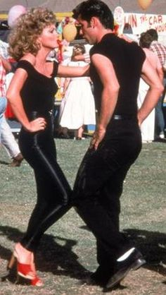 Grease is the word!!!  i felt yummy when i wore my outfit just like Olivia Newton John back in the day.  Don't be scared, it was a them party