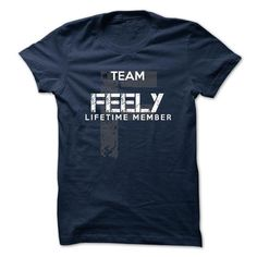 FEELY - TEAM FEELY LIFE TIME MEMBER LEGEND - #womens tee #hoodie jacket. WANT THIS  => https://www.sunfrog.com/Valentines/FEELY--TEAM-FEELY-LIFE-TIME-MEMBER-LEGEND-50141633-Guys.html?id=60505