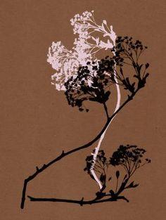 Dancing Trees_Chocolate Art Print by Garima Dhawan | Society6