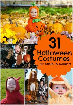 31 Halloween Costumes for Babies and Toddlers www.spaceshipsandlaserbeams.com