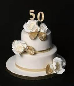 Elegant Gold 50th Wedding Anniversary Party Custom Announcement From ...