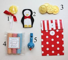 It's a Jolly Holiday party! loot bags