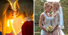 These Two Female Cosplayers Got Married And Their Wedding Looked Like A Real-Life Fairytale | Bored Panda