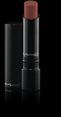MAC Sheen Supreme Lipstick in Impressive (it's more of a pink-y neutral than this picture makes it look)