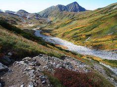 立山三山縦走の登山ルート案内|北アルプス登山ルートガイド。Japan Alps mountain climbing route guide