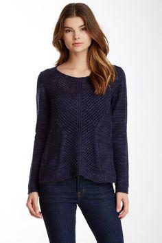 Devoted Sheer Back Sweater