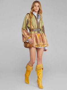 New Arrrivals Spring Summer 2020 - Maison Gassmann Mandarin Collar, Boho, Men's Collection, Paisley Print, Cotton Dresses, Print Patterns, Fashion Show, Pink, Spring Summer