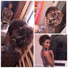 "megan_mckenna_ on Instagram: ""Love my hair up done by the lovely Jack @strawberry_glow All ready for the CBB finale tonight... Thankyou!!!! """