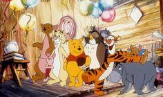kanga piglet rabbit winnie the pooh owl tigger roo & eeyore from The Tigger Movie