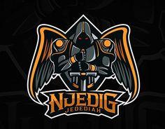 "Logo for DOTA 2 player ""NjediG Jedediah"". Russia."