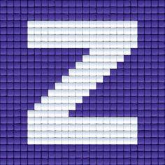 X Letter Z   Pixel Party