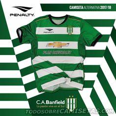 Camiseta alternativa Penalty de Banfield 2017-18
