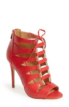 Enzo Angiolini 'Nehan' Leather Lace Up Sandal (Women) available at #Nordstrom