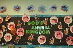 Fun Animal Board by the great Miss Jessica