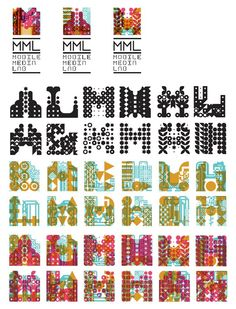 Complex pattern with bigger shapes on top   Blog mml in Logos