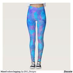 Mixed colors legging.