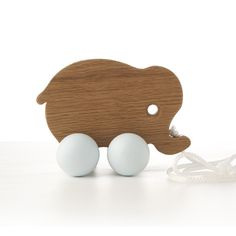 hop and peck - wooden elephant
