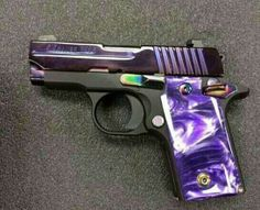 Sig P238 Purple Pearl... Think this might be the one!Loading that magazine is a pain! Excellent loader available for your handgun Get your Magazine speedloader today! http://www.amazon.com/shops/raeind