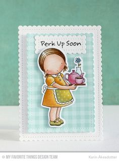 Steeped In Love, Stitched Mini Scallop Rectangle STAX Die-namics - Karin Åkesdotter   #mftstamps
