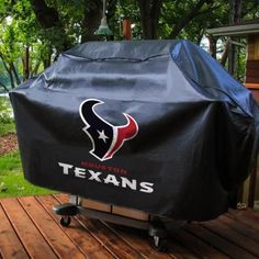 NFL Deluxe Grill Cover – The Caveman's Guide Bbq Grill, Grilling, Football Team Logos, Houston Texans, Pittsburgh Steelers, Making Out, Man Cave, Nfl, Backyard