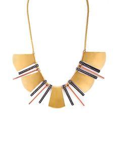 Metallic Tribe Necklace